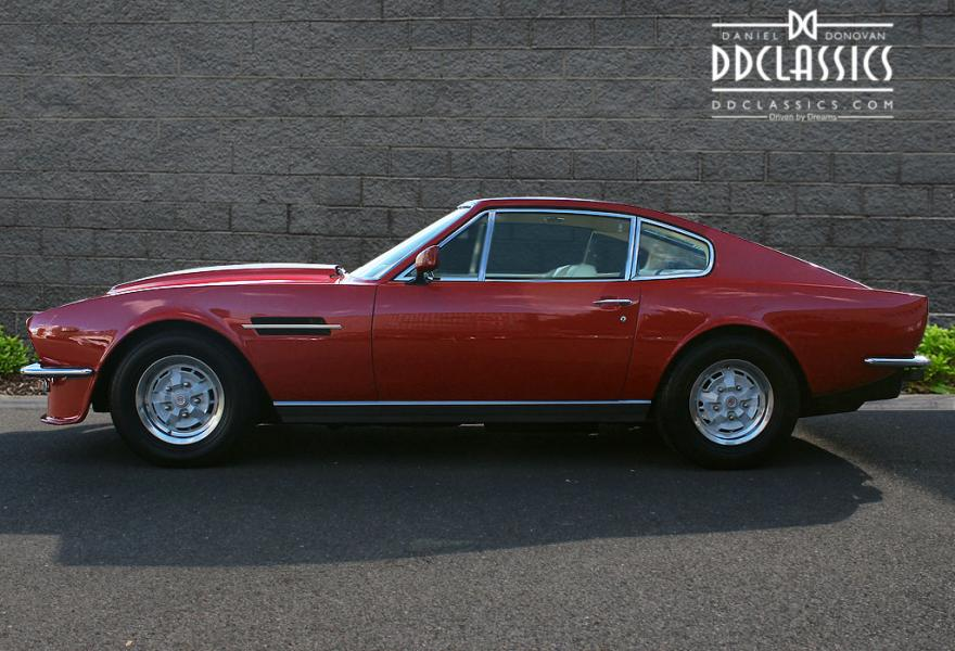 Aston Martin V Vantage Oscar India RHD - Aston martin v8 for sale