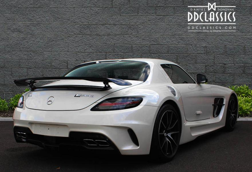 Mercedes sls amg black series rhd for Mercedes benz badges for sale