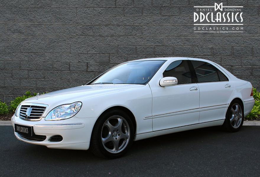 2005 Mercedes S500 Auto for sale in London (RHD)