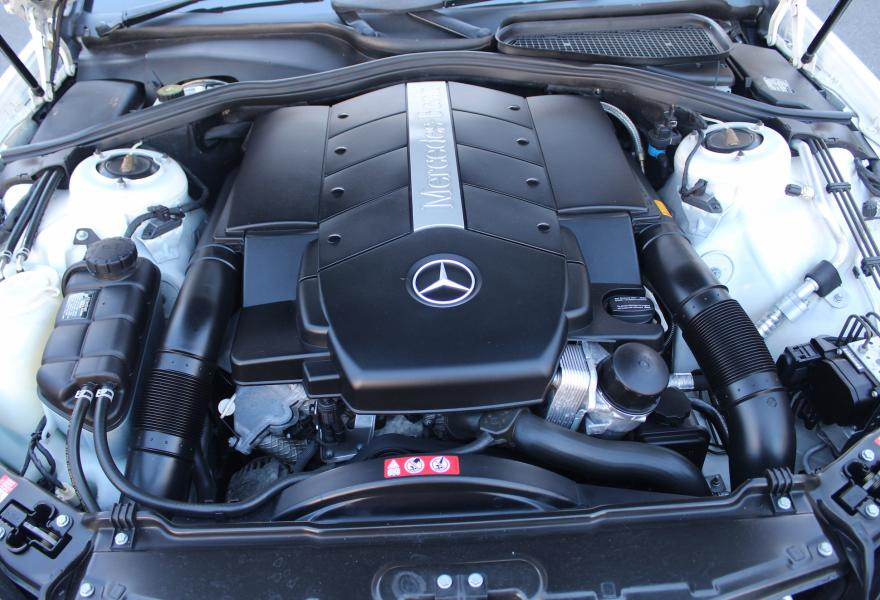 5 litre mercedes engine