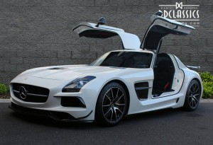 2013 mercedes sls amg black series for sale in london