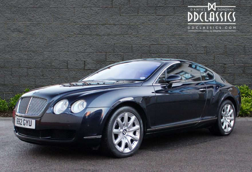bentley continental gt auto rhd