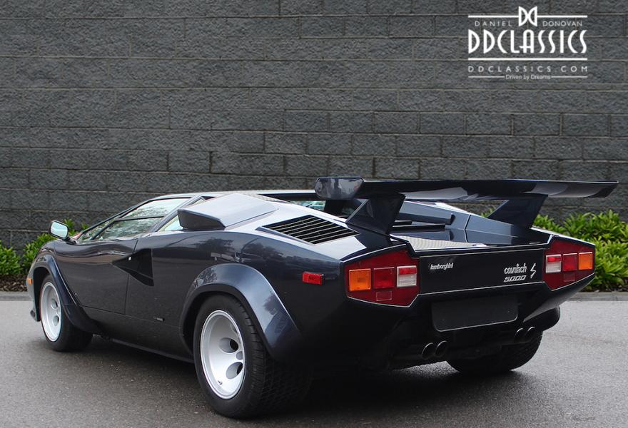 right hand drive lamborghini countach for sale