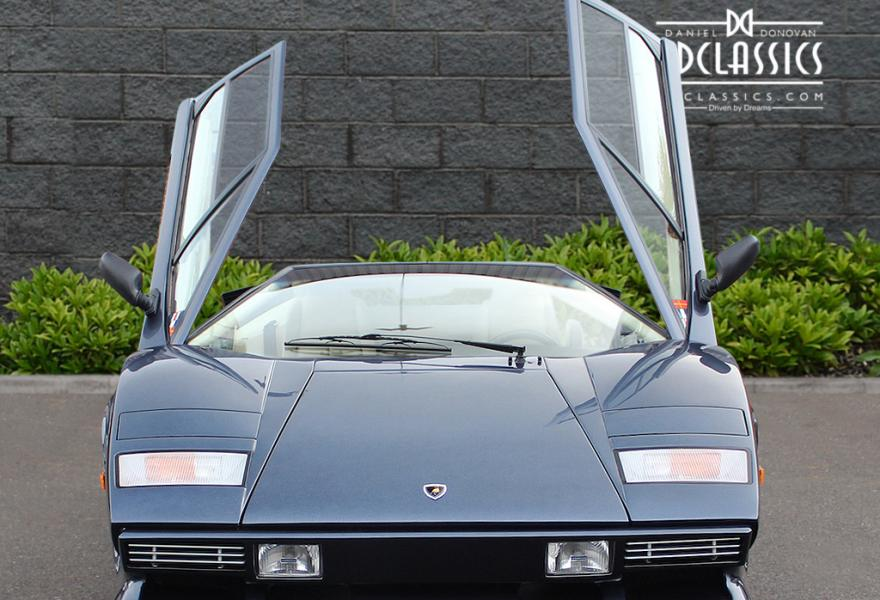 lamborghini countach right hand drive price