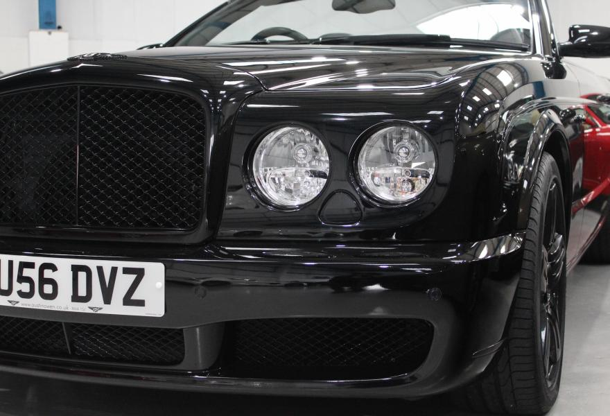bentley azure headlights