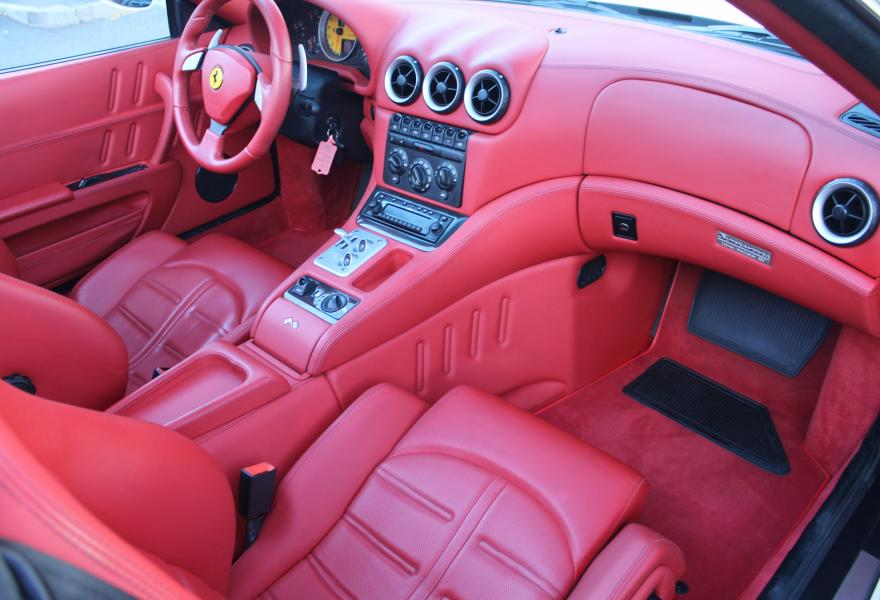 red leather 575 superamerica