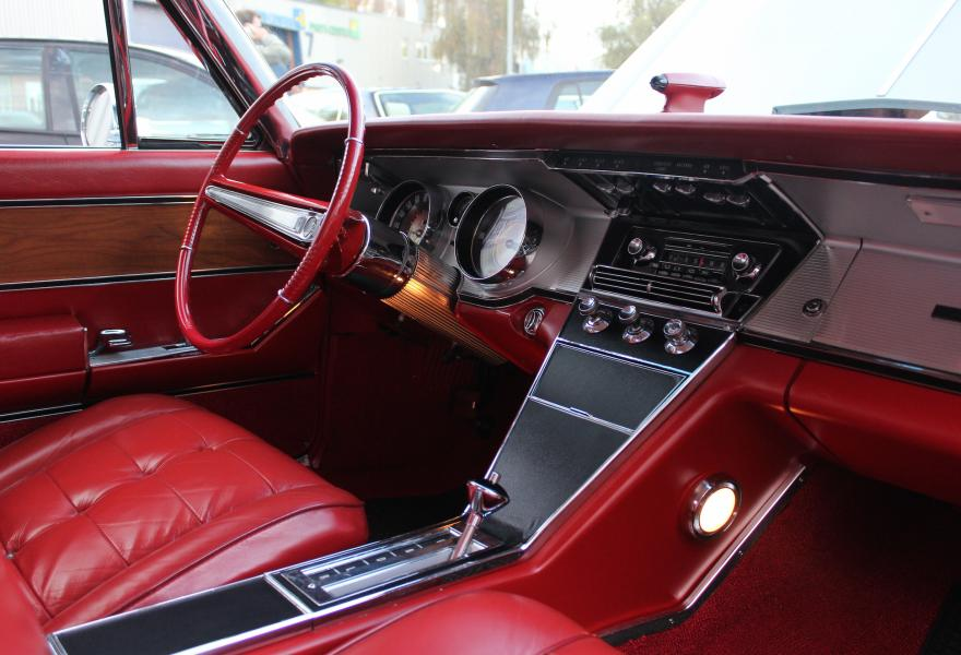 red leather bruick riviera interior