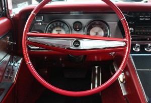 red bruick riviera steering wheel