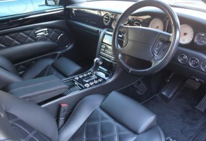 bentley azure interior picture