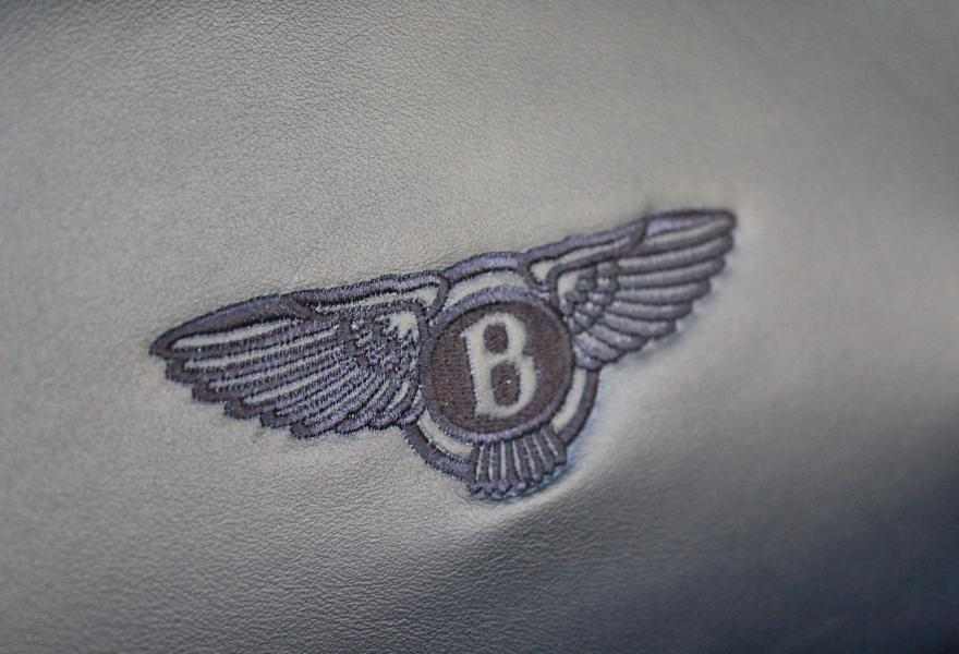 stitched bentley logo