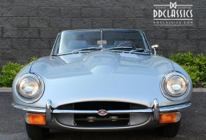 silver jaguar e-type price uk