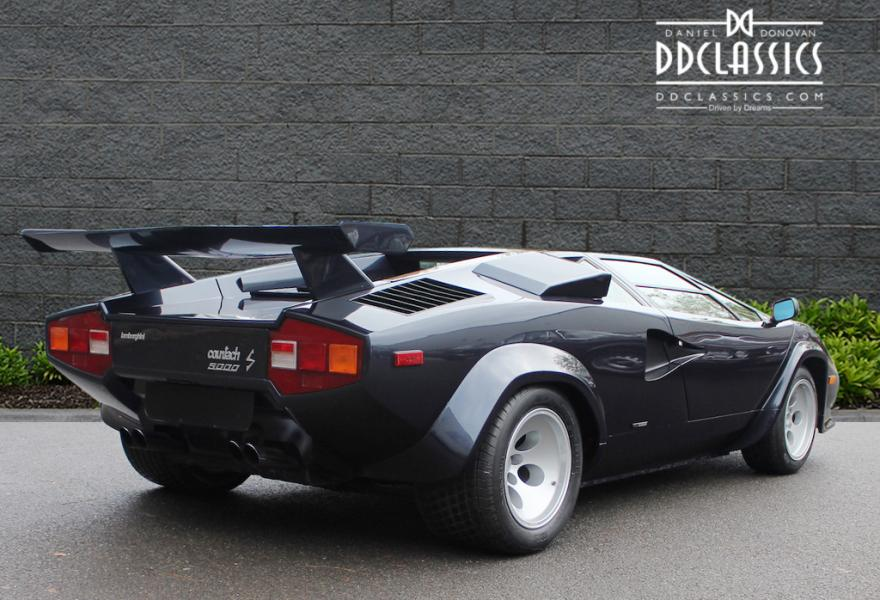 1983 Lamborghini Countach 5000 S Coupe for sale in London (RHD)