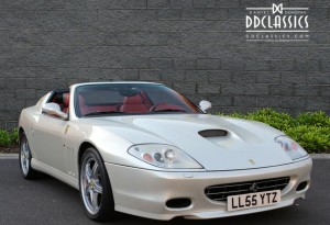 left hand drive ferrari 575 superamerica for sale in the UK