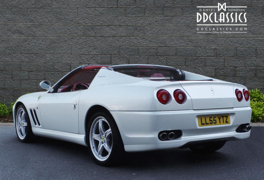 white ferrari superamerica for sale