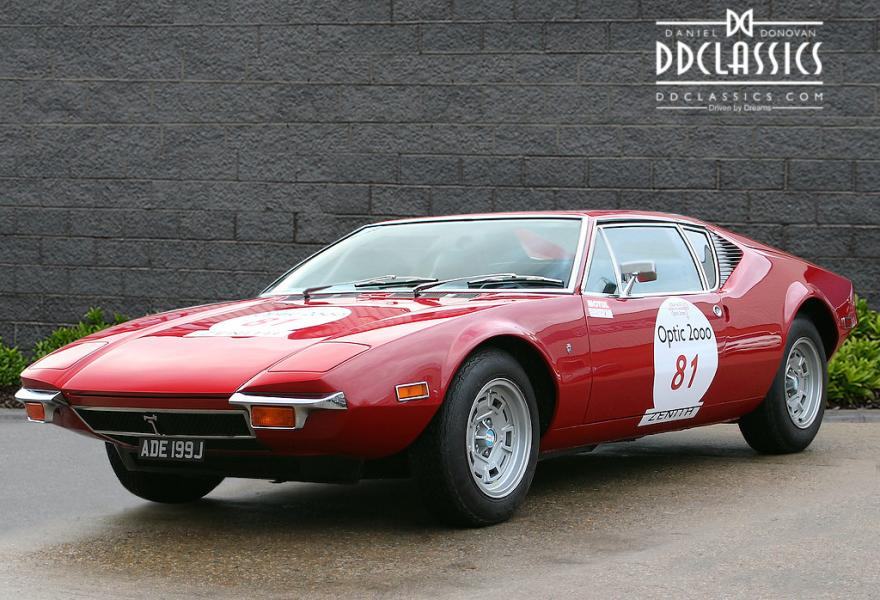 1971 DeTomaso Pantera 'Pulsante' (The Hawaii 5-0 Car) for sale in London (LHD)
