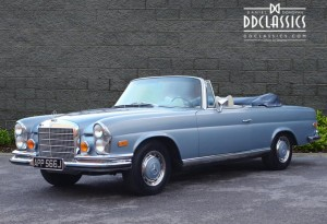 1971 Mercedes 280 SE 3.5 Cabriolet  for sale in London (LHD)