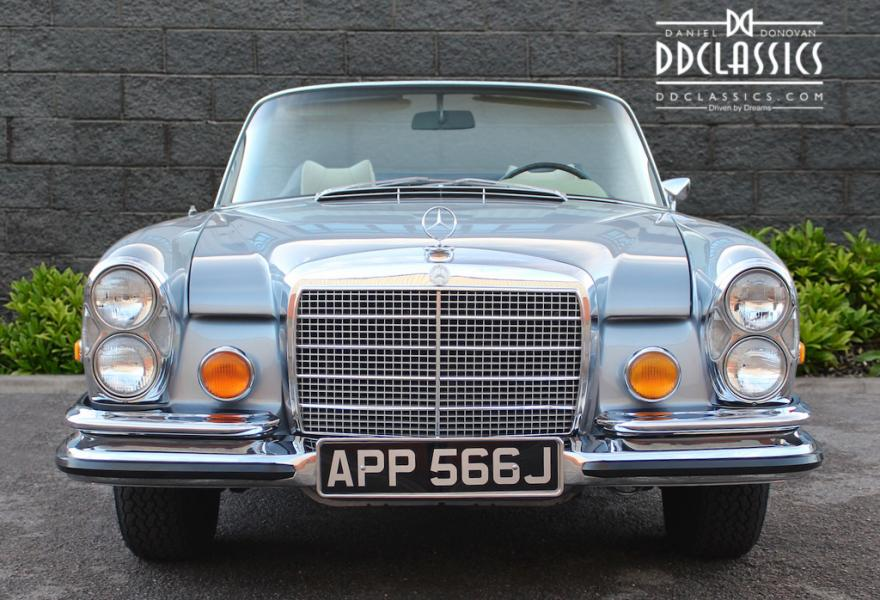 mercedes 280 se convertible for sale