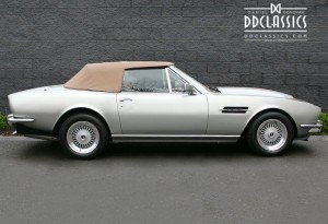left hand drive aston martin v8 volante for sale in uk