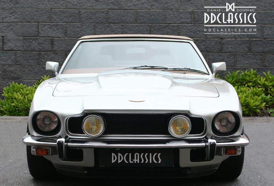 left hand drive aston martin v8 volante for sale at dd classics