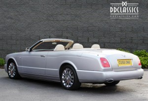 silver bentley azure convertible for sale