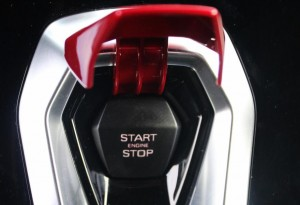 engine start-stop button