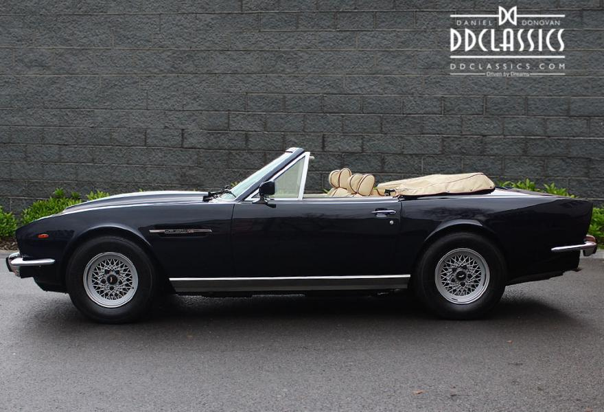 lhd aston martin v8 volante for sale in London