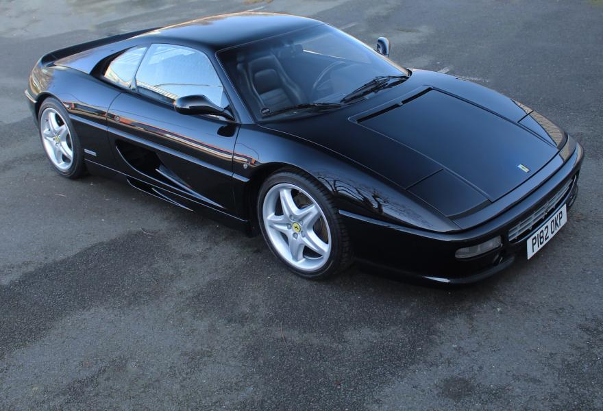 black ferrari 355 berlinetta for sale