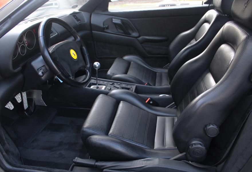 black with black ferrari f355 berlinetta for sale