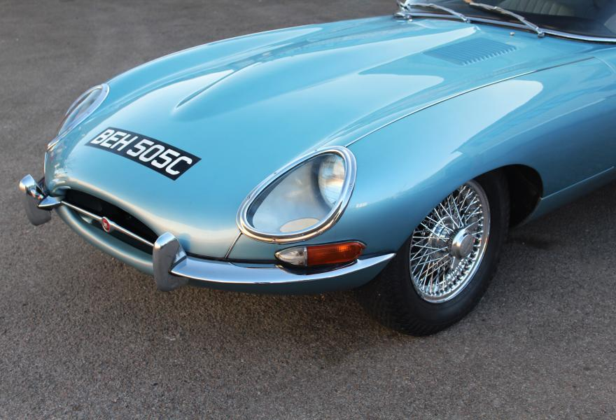 classic jaguar e-type for sale
