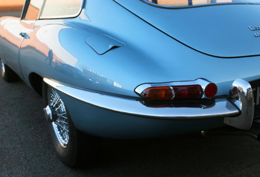 blue jaguar e-type for sale