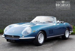 1966 Ferrari 275 GTB NART Spyder Conversion (LHD) for sale in London