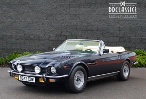 astin martin v8 volante for sale