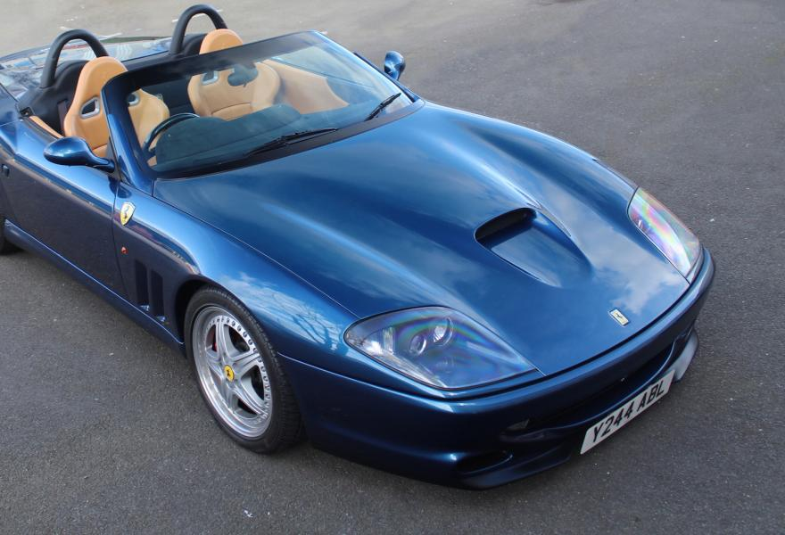 right hand drive ferrari 550 barchetta for sale