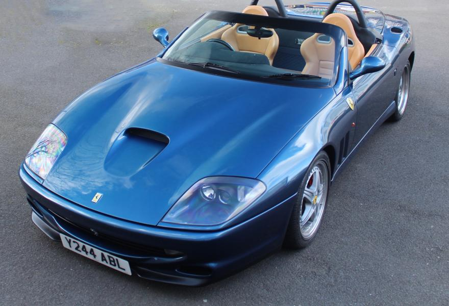 rare right hand drive ferraris for sale