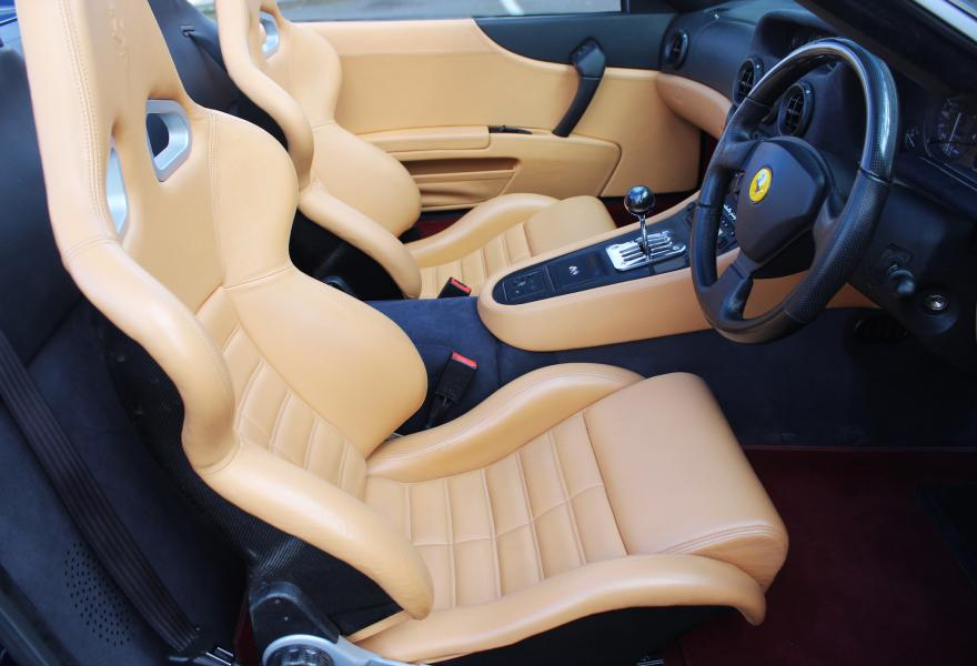ferrari 550 barchetta drivers seat for sale