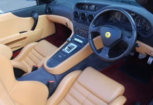 low mileage ferrari 550 barchetta for sale