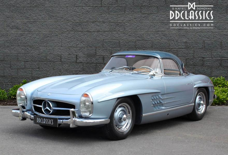 1958 Mercedes 300 SL Roadster (LHD) for sale in London