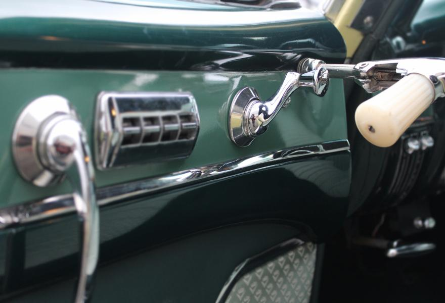 cadillac close up