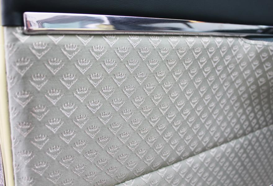 cadillac cloth interior pattern