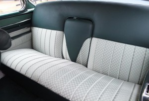 cadillac rear seats