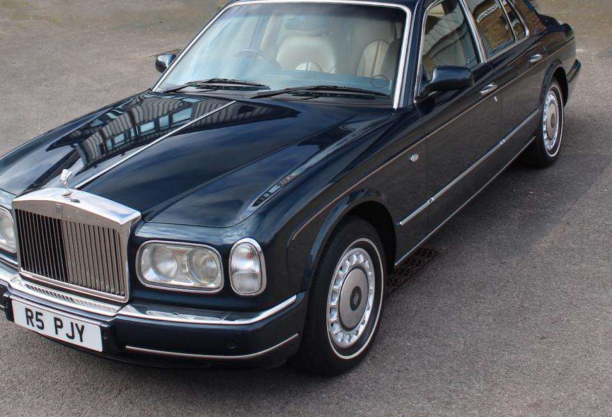 rolls-royce silver seraph straight-eight new forest