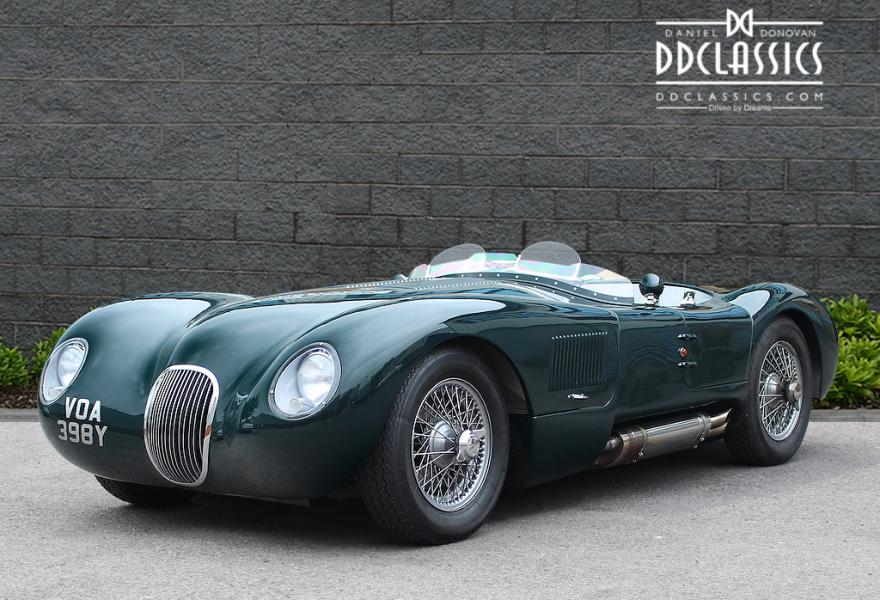 1951/83 Jaguar C-Type Recreation (RHD) for sale in London