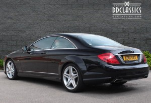 2012 Mercedes CL500 Blue Efficiency 4.7 (RHD) for sale in London