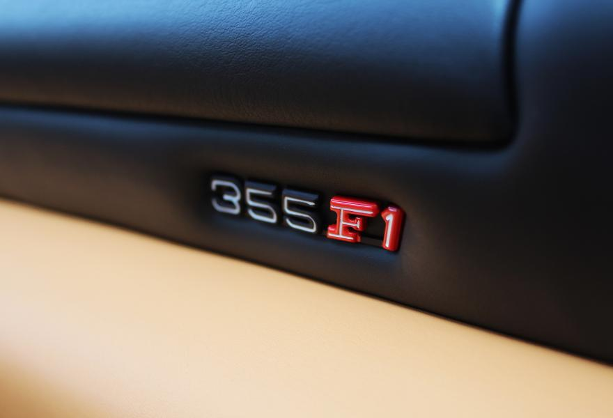 ferrari 355 f1 dashboard and top roll