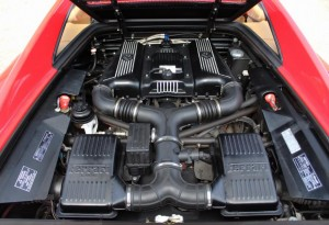 what size engine is a ferrari f355