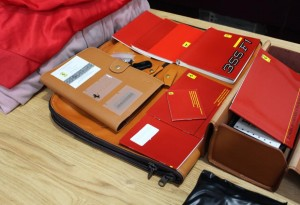 full ferrari f355 luggage set