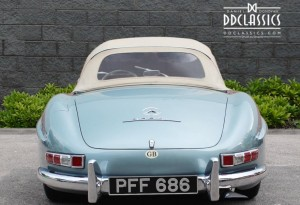left hand drive mercedes-benz 300 sl roadster for sale