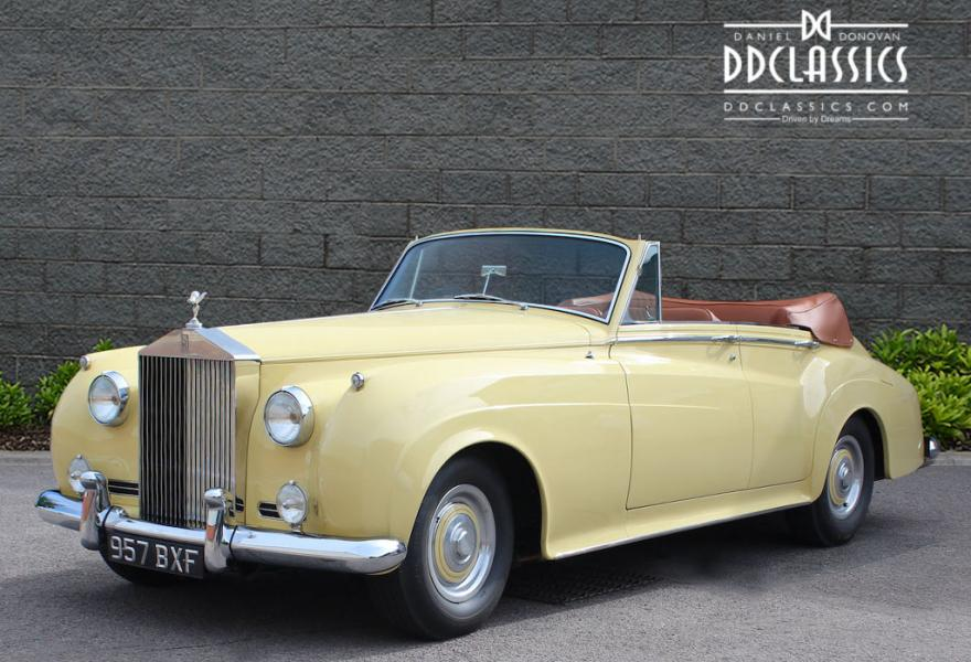 1961 Rolls-Royce Silver Cloud II 4-Door DHC (RHD) for sale in London