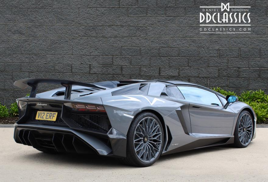 2017 Lamborghini Aventador LP750-4 SV Roadster (RHD) for sale in London