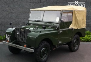 "1950 Land Rover Series 1 80"" (RHD) for sale in London"